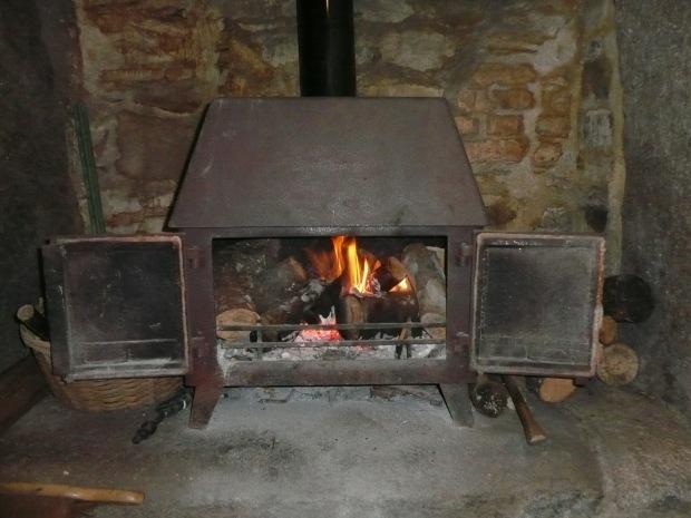 Woodburning stove www.thinkingcowgirl.wordpress.com
