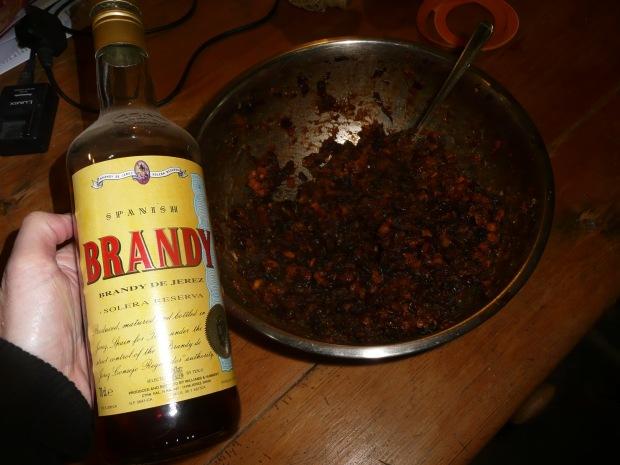 Mincemeat and Brandy Bottle  www.thinkingcowgirl.wordpress.com