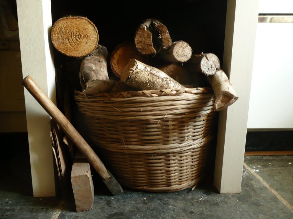Firewood Basket  www.thinkingcowgirl.wordpress.com
