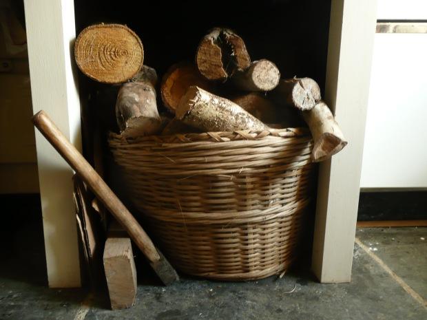 Firewood Basket  www.thinkingcowgirl.wordpress.com