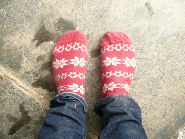 Festive Feet  www.thinkingcowgirl.wordpress.com