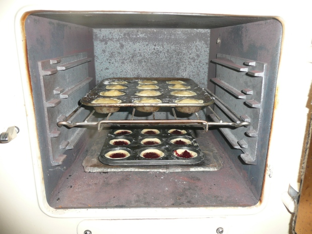 Placed them inthe oven